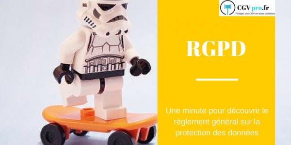 Une minute pour découvrir le règlement général sur la protection des données